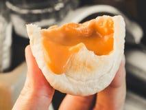 Тайский хлеб заварного крема Стоковые Фотографии RF