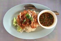 Тайский цыпленок богачей еды Стоковые Фотографии RF