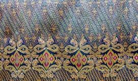 Тайский шелк Стоковая Фотография