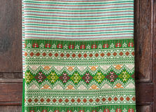 Тайский шелк Стоковое Изображение RF