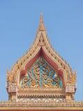 Тайский щипец строба буддийского виска стоковая фотография rf
