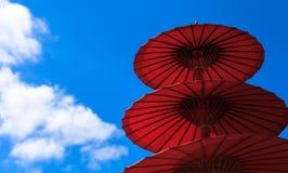 Тайский handmade зонтик Стоковое фото RF