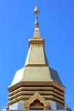 Тайский pagoda, висок Phothisoonthorn, Udornthani Стоковое Изображение