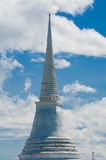 Тайский pagoda на холме Стоковое фото RF