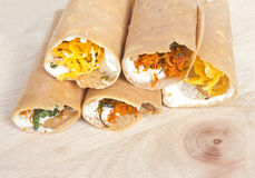 Тайский Sweetmeat или кудрявый блинчик. Стоковая Фотография