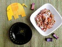 Тайское блюдо говядины фрая stir Стоковое фото RF