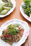 тайское еды пряное Стоковые Изображения
