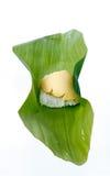 тайское десерта заварного крема испаренное рисом липкое стоковое фото rf