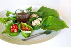 тайское еды здоровое Стоковое Изображение