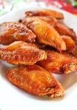 тайское зажаренное цыпленком Стоковые Изображения RF