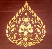 Тайское искусство ангела Стоковая Фотография RF
