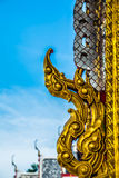 Тайское искусство виска Стоковое фото RF
