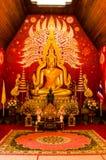 Тайское искусство на стене Стоковые Изображения RF