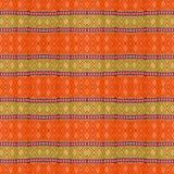 Тайское искусство на текстуре ткани стоковые изображения rf