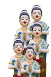 Тайское искусство прессформы типа Стоковая Фотография
