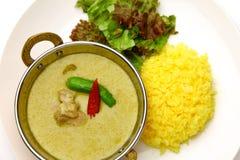 тайское карри зеленое Стоковое Изображение RF