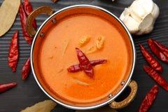 тайское карри красное Стоковое Изображение RF