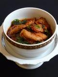 тайское карри цыпленка красное Стоковые Изображения RF