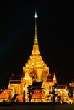 тайское красивейшего crematorium королевское стоковые изображения rf
