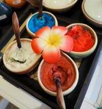 Тайское масло курорта стоковая фотография