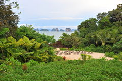 Тайское море, Krabi Таиланд Стоковые Изображения RF