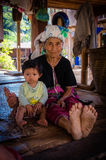 Тайское племя холма karen Стоковые Изображения RF