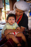 Тайское племя холма karen Стоковое Изображение RF