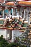 Тайское старое красочное Размещено в Бангкок, Таиланд стоковые изображения rf