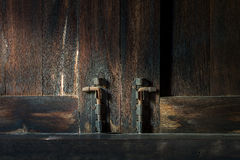Тайское старое окно Стоковое Фото