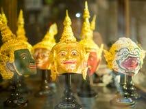 Тайское старое традиционное maskHua Khon стоковое изображение rf