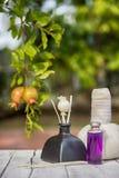 Тайское травяное обжатие с эфирным маслом и белой ароматностью вставляет I Стоковые Изображения RF