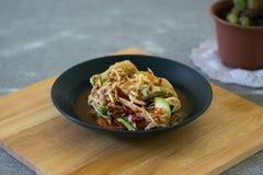Тайское традиционное или Тайская кухня стоковые фото