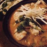 Тайское тушёное мясо морепродуктов Стоковые Изображения