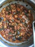 Тайское тушёное мясо свинины Стоковые Фотографии RF