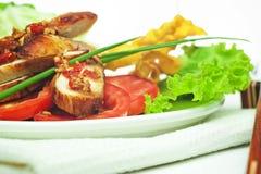 тайское цыпленка пряное Стоковые Изображения RF
