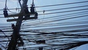 Тайское электричество стоковое изображение