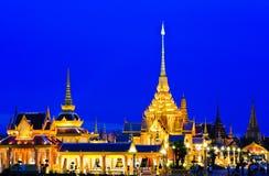 тайское crematorium королевское стоковые изображения rf