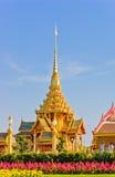 тайское crematorium королевское стоковое изображение rf