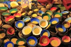 Тайское Krathong сделанное от раковин кокоса Стоковые Фотографии RF
