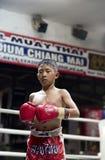 Тайское Muay в Чиангмае Стоковые Фото