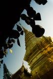 Тайское Pogoda с много колоколов Стоковое Изображение RF