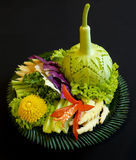 Тайское saengwa салата еды Стоковое фото RF