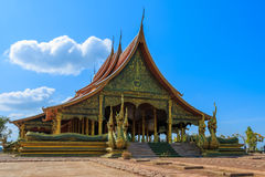 Тайское sirindhornwararam Wat Phu Prao виска Стоковое фото RF