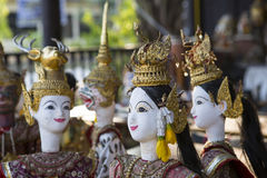 Тайское statuary Стоковые Изображения RF