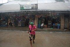 Тайфун Филиппины Стоковые Изображения