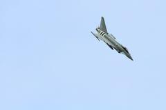 Тайфун Eurofighter военно-воздушных сил Великобритании Стоковое фото RF