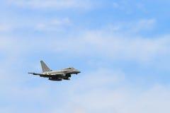 Тайфун Eurofighter военно-воздушных сил Великобритании Стоковые Фотографии RF