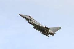 Тайфун Eurofighter военно-воздушных сил Великобритании Стоковая Фотография RF
