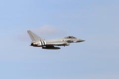 Тайфун Eurofighter военно-воздушных сил Великобритании Стоковое Фото