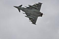 Тайфун Eurofighter на flypast Стоковое Изображение